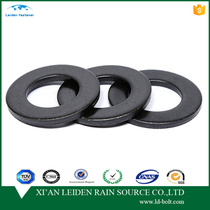 high quality black din125/ gb67 grade 8.8 steel flat washer