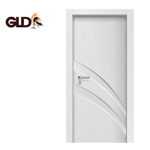 Simple beautiful high quality and best price WPC 2 panel <strong>door</strong> and WPC <strong>door</strong> frame Israel market