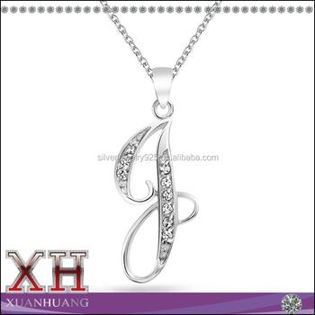 925 silver cz cursive initial letter j alphabet pendant necklace 925 silver cz cursive initial letter j alphabet pendant necklace aloadofball Gallery