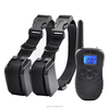 Petrainer PET998DR-BL2 Newest 300M Back Light Remote Beep Electronic Shock Collar For 2 Dogs