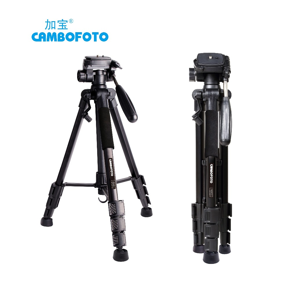 Professional durability Tripods Travel Camera Tripod Monopod Head For DSLR Camera