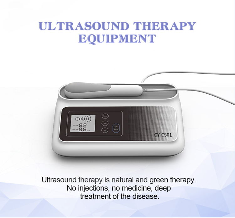 2019 Latest Ultrasound Physical Therapy Shockwave Equipments