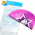 Hot Sale Hello Kitty Lovely Silicone Swim Cap