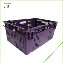 eco-friendly fruit and vegetable bin and stackable small mesh plastic crate