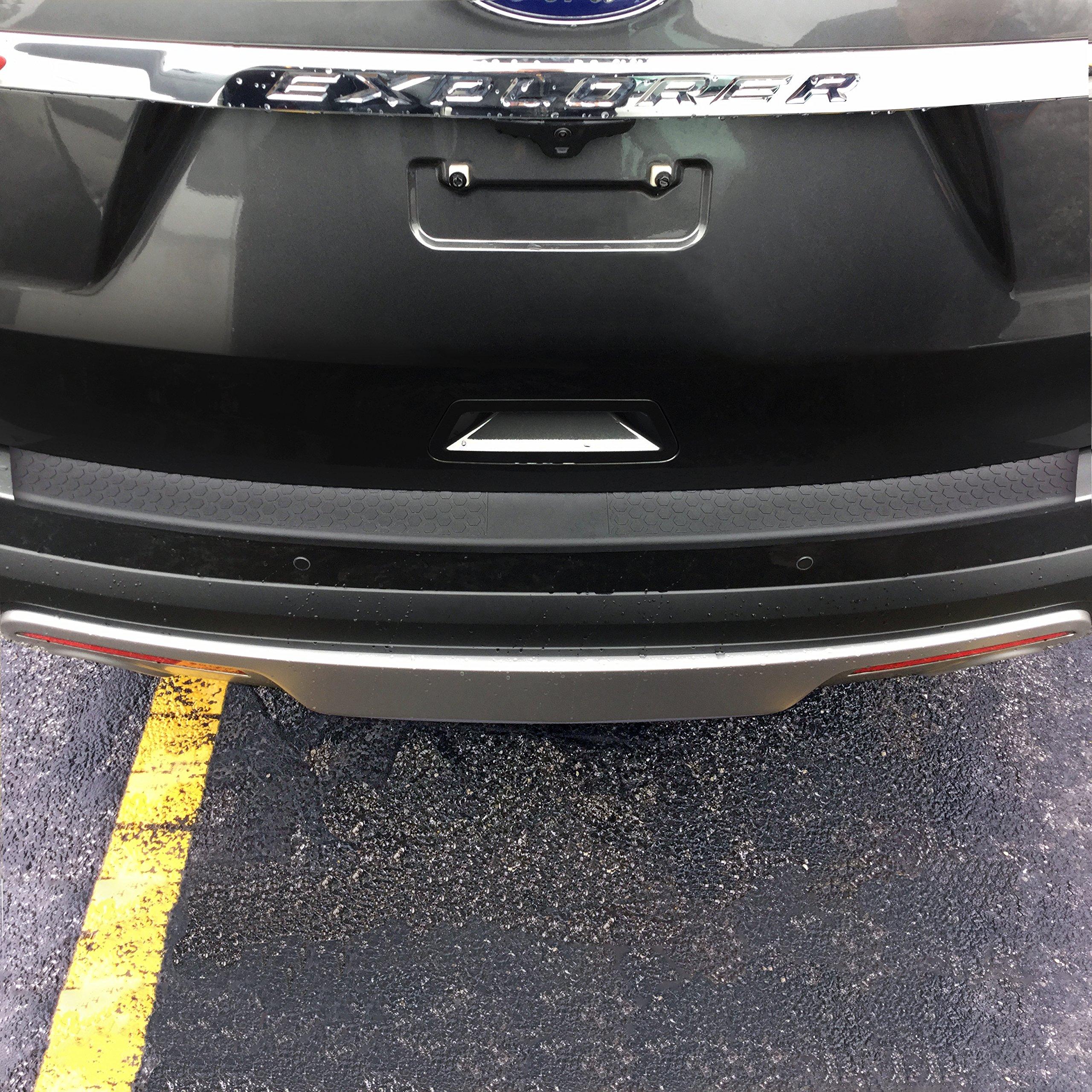Get Quotations · 2011-2017 Ford Explorer Rear Bumper Protector and Bumper  Guard
