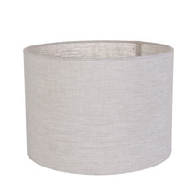 Hot selling Cylinder linen color fabric lamp shades
