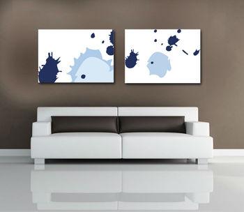 Simple Home Goods Design Decorative Canvas Oil Paintings