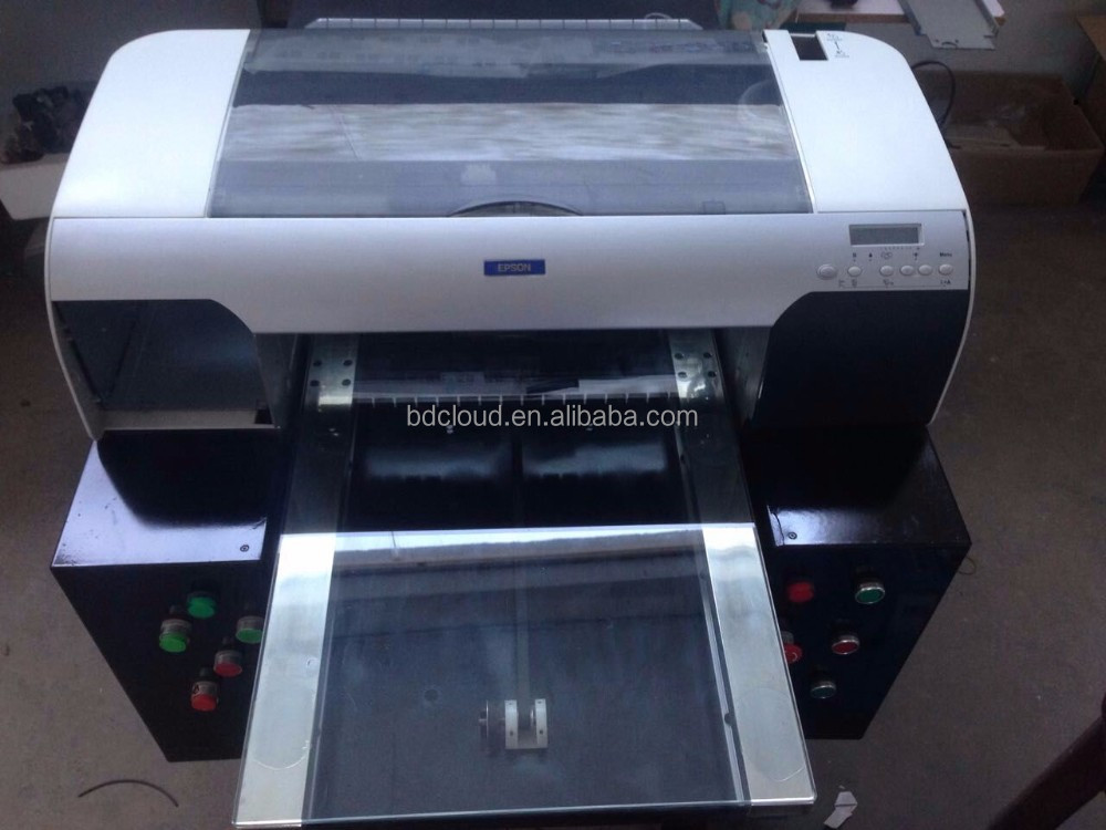 Hot sale high quality A2 tshirt white ink printing machine prices