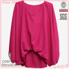pullover sleeveless newest design casual/leisure fashion blouses 2013