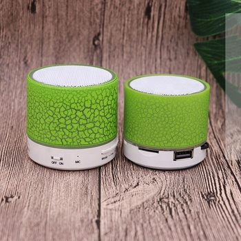 A9 Mini Wireless Portable Speaker With LED and Build-in Mic Support AUX TF for iPhone for iPod Android PC