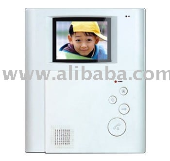 Color hands-free video intercom extension
