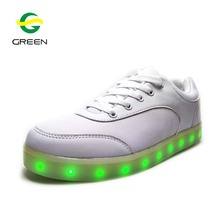 Greenshoe Fashion popular sneakers led shoes for women light up led shoe