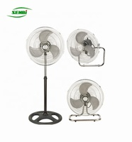 FS-45A powerful wind industry stand fan 18 inch electric fan 3 in 1 with cheap price