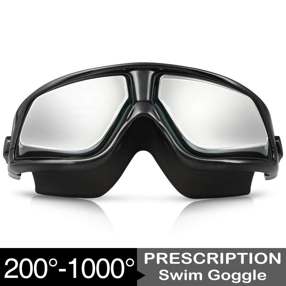 e66293d8ba Get Quotations · Zionor RX Prescription Swim Goggles