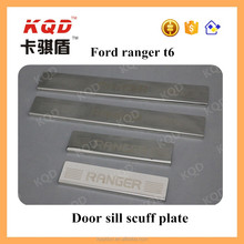 Hot sale car side step for ranger accessories 2015 stainless steel side step 2016 ranger accessories door sill scuff plate