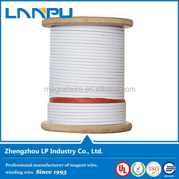 ISO Certificated Three Papers Inner Turn Insulation Paper Covered Aluminum/ Copper Wire
