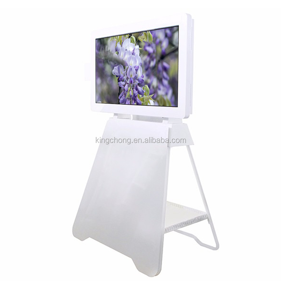 "32"" wall mounted and floor standing 1920*1080 lcd video display for canada Market"