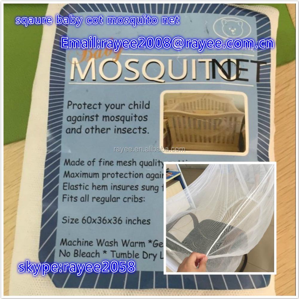 Moustiquaire de lit 220*200*210cm quatre coins protection complete anti-insectes