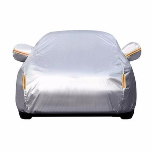 outdoor full polyester high quality inflatable hail proof waterproof car cover