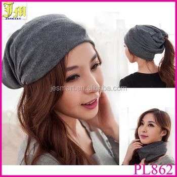 44f85b9c643 2014 New Korean Fashion Unisex Cotton Hip Hop Ring Warm Beanie Cap Autumn  Winter Women Men