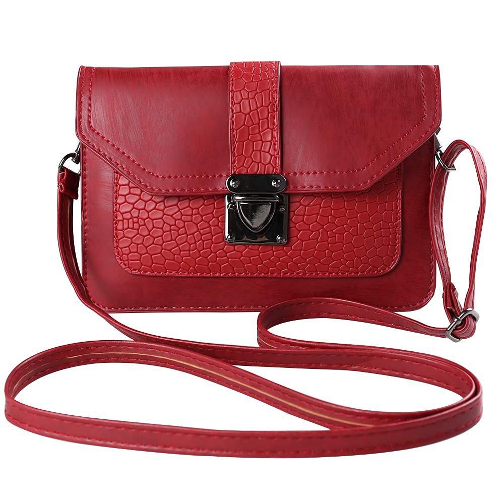 Dark Brown Refaxi Womens Bag Chain Bag Retro Messenger Bag Single Shoulder Bag