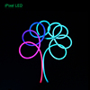 High Quality Digital Color Dmx Led Strips Flexible Neon Flex Rope Tube