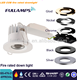 Fullamps UK demand BS476 12w fire rated downlight with original sharp cob high efficiency IP65 aluminum lamp dongguan lighting