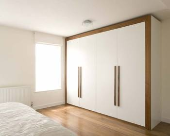 2018 Hangzhou Vermonhouse New Fashion White Wardrobe Bedroom Furniture Designs Simple Modern Style Latest Wood Wardrobe