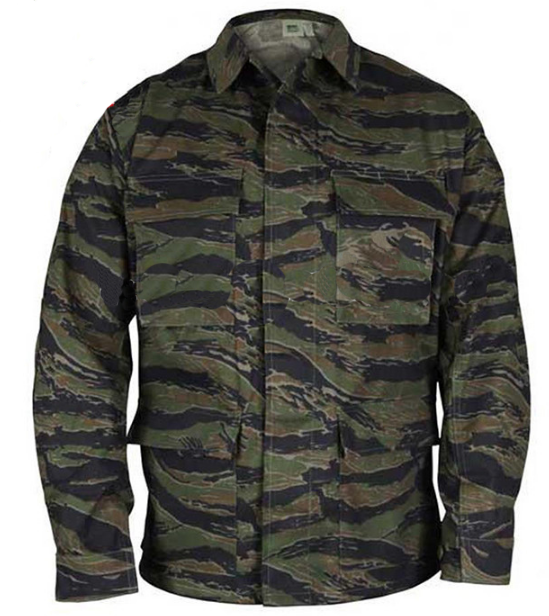 Army Battle Dress Uniform Jacket  Military Tactical Shirts Camouflage BDU Coat
