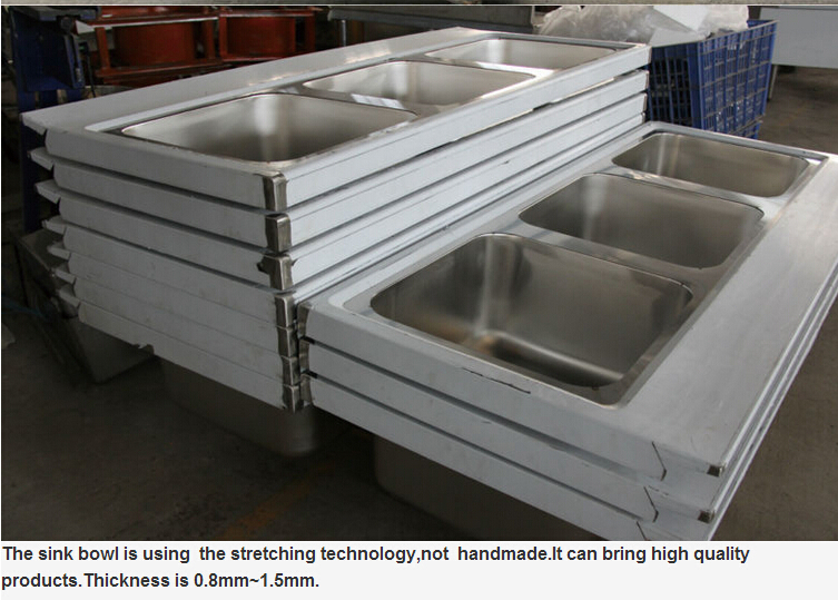 single bowl free standing commercial industrial hotel
