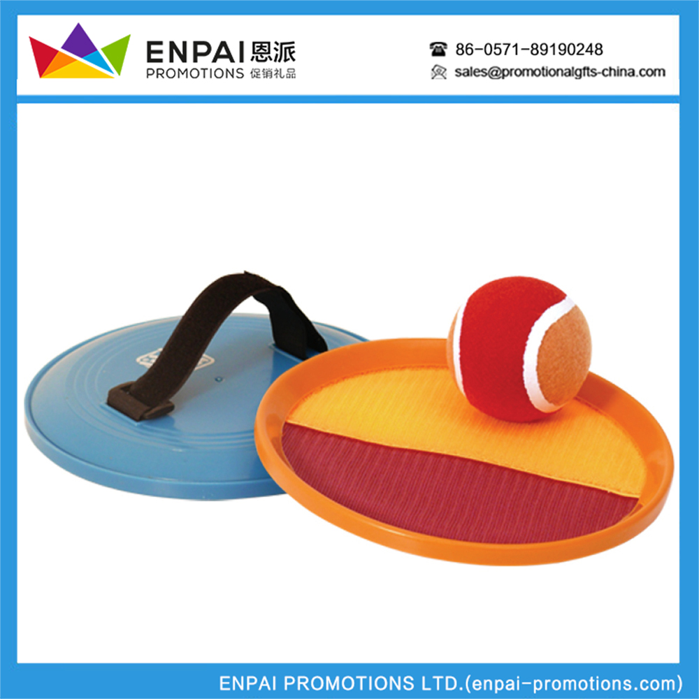 Promotional Inflatable catch Ball velcro paddles and Wholesale catch Ball