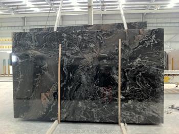 Black Marquina Granite Mosaic Tile 24x24