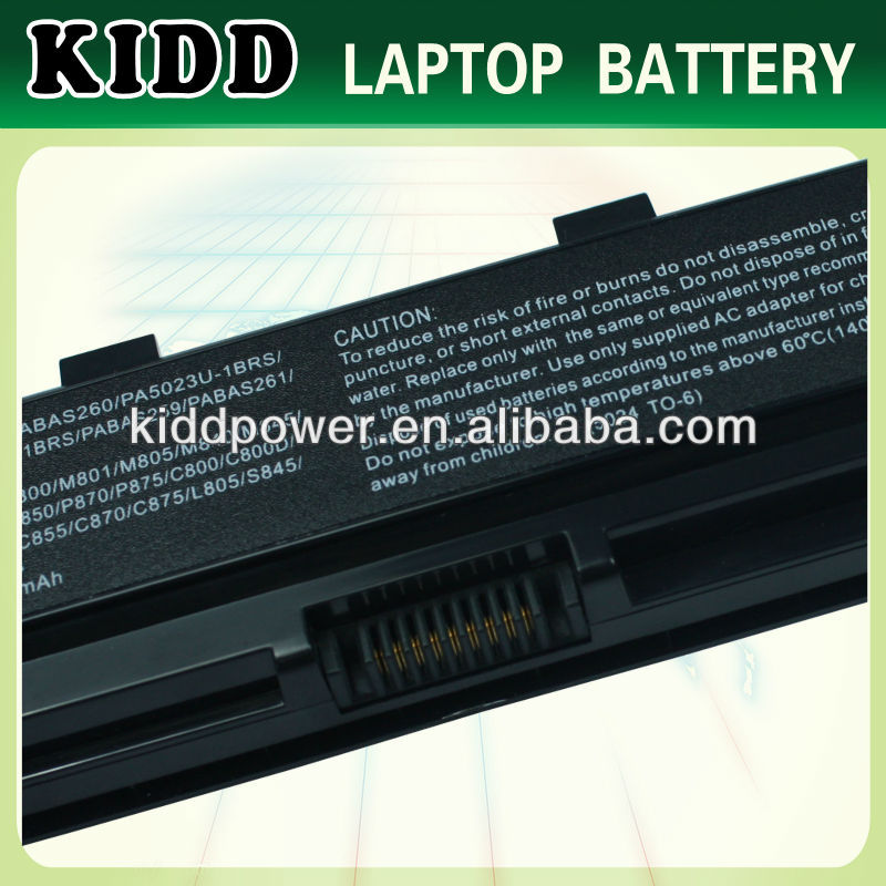 Replacement External Laptop Battery For Toshiba Dynabook Qosmio T752 T752/T4F T752/T8F T852 T852/8F B352