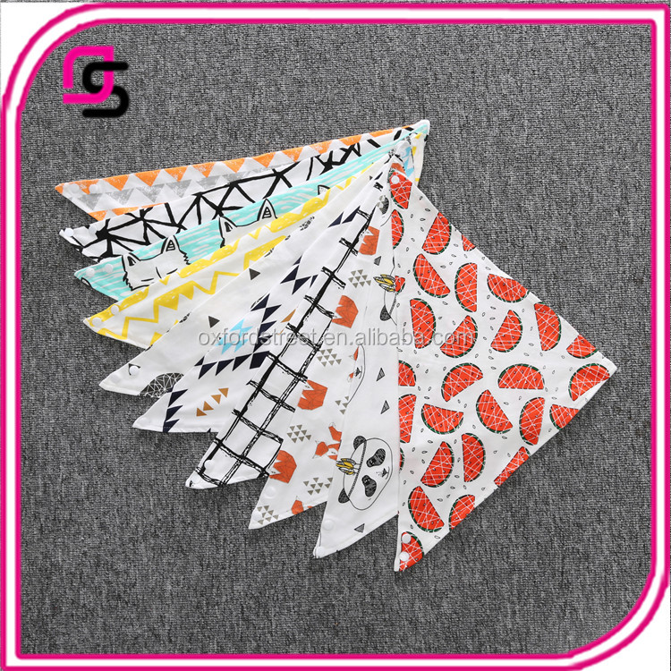 Fashion Baby Bandana Drool Bibs for Drooling and Teething Boys Girls