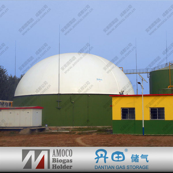 High capacity waste water storage tank for alcohol/beer plant of waste treatment