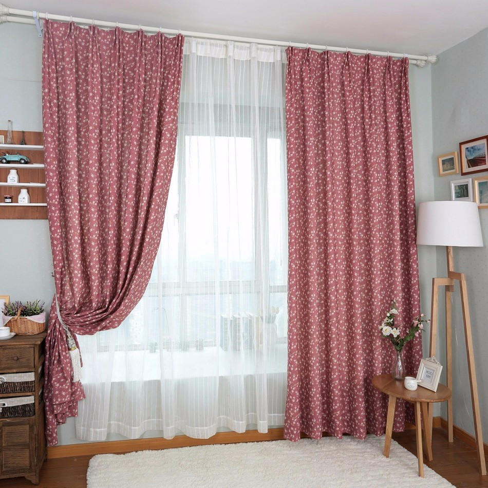 stunning rideaux pour cuisine rouge retro window curtains. Black Bedroom Furniture Sets. Home Design Ideas