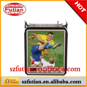 Football heat Mini portable FM radio with USB&SD music player FT-653
