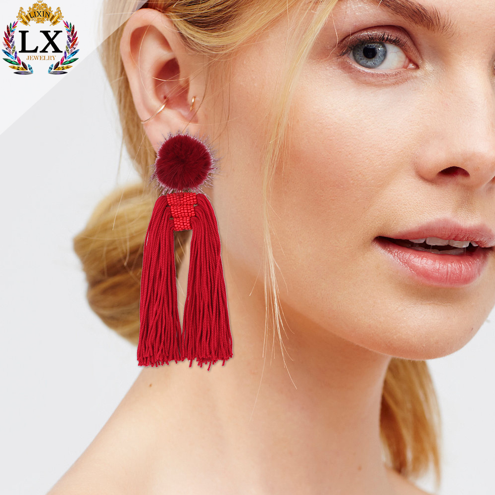 silk chandelier earrings big thread jhumka fcco fullxfull zoom listing il