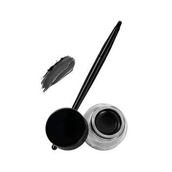 Custom Eye Makeup Organic Black Gel Eyeliner