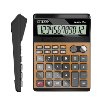 GTTTZEN English pronunciation desktop scientific 12 digits calculator for wholesales CT-007e