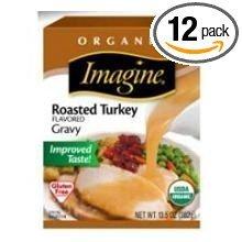 Imagine Foods Organic Roasted Turkey Flavored Gravy, 13.5 Fluid Ounce -- 12 per case.