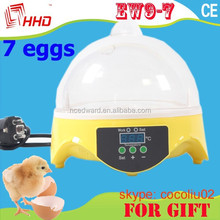 HHD EW9-7 Egg Incubator Educational Toys for Children Gift Packing for Christmas for sale with CE approved