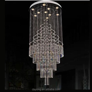 guzhen glass chandelier modern hotel lighting for lobby Model : DY106