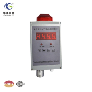 Fixed wall mounted CL2 chlorine gas detector air quality monitor