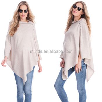 147e1d49c Las mujeres embarazadas traje de moda al por mayor de algodón puro de punto  de Chal