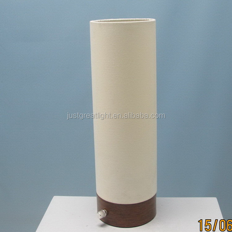 Modern design art different style white table lamp shade