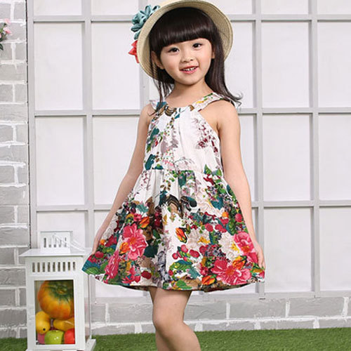 9323c6d8c198c Buy Cute toddler girl clothing dress 2015 summer kids flowers dresses baby  girls princess party .