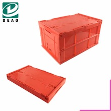 Hot Sale Quality Fold up Colorful Crate/Box With Handles