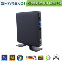 multi terminal pc station 1037U mini pc Intel K390C for media center game pc