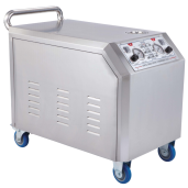 7Bar 10KW Steam Car Wash Machine Non-boiler And Wash Goes By Motor For Sale